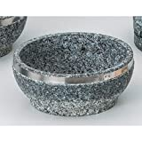 Korean Tableware utw483-24-674 [7.1 x 3 inch] Japanece ceramic 18cm stainless steel winding Ishinabe tableware