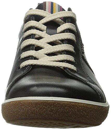 para mujer Ecco Negro Chase de mujeres calzado Oxford gppqTxw1