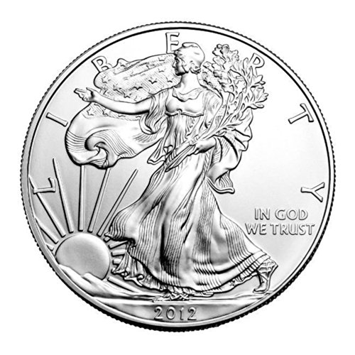 American Eagle Great (2012 Silver Eagle with Airtight Holder $1 Brilliant Uncirculated)