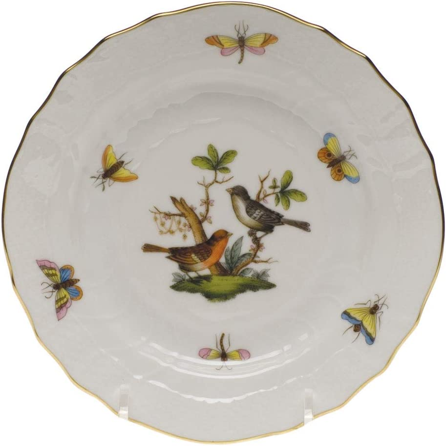 Herend Rothschild Bird Porcelain Tea Cup Motif #2