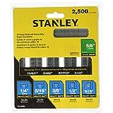 STANLEY TRA700BN Grapas surtidas uso rudo 2500 piezas