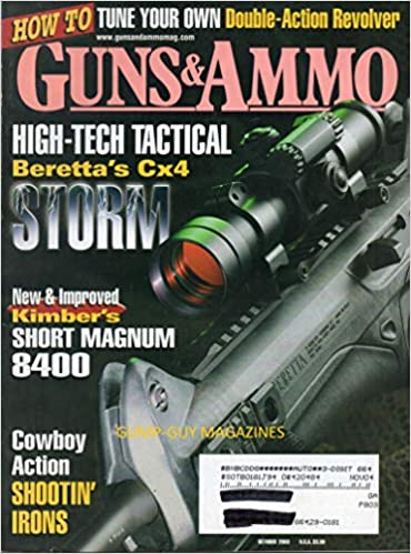GUNS & AMMO October 2003 Magazine HOW TO TUNE YOUR OWN