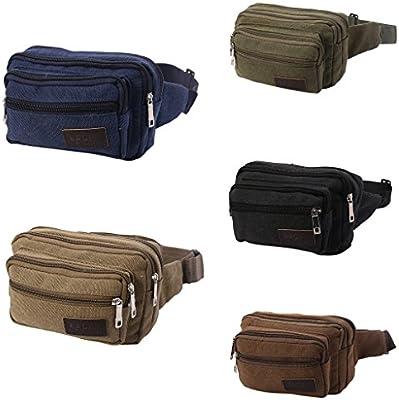 Running Sport Bum Bag Pack Travel Unisex Waist Money Belt Hiking Pouch Wallet