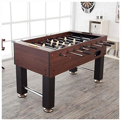 Foosball Tables, Game Time 55-inch Foosball Table with 4 Soccer Balls