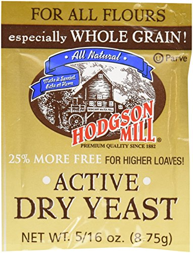 Hodgson Mills Active Dry Yeast, 9 Gram (Pack of 48) ()