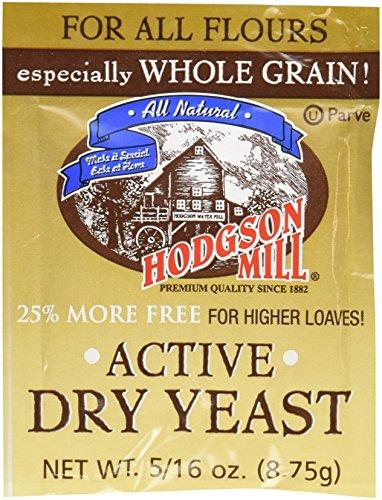 Hodgson Mills Active Dry Yeast, 9 Gram (Pack of 48)