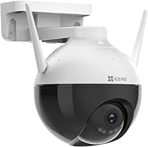 EZVIZ C8C 1080P Wifi Smart Home Outdoor Security Camera Color Night Vision 360 Degree IP65 Dust and Water Protection AI EZVIZ Cloud/SD CardStorage,CS-C8C-A0-3H2WFL1(4MM)