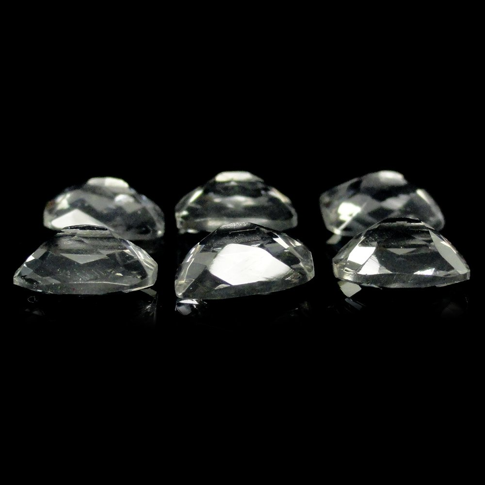 Natural White Topaz Emerald Cut 8x6mm Approximately 10.00 Carat Loose Gemstone (15107)