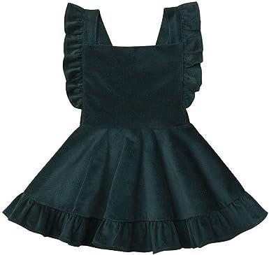 CYICis - Falda - para niña Verde 4-5 años: Amazon.es: Ropa y ...