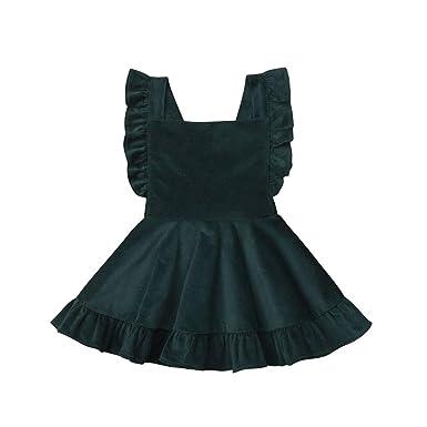 nouveau style d3280 54904 Enfant Bébés Filles Infantile Jupe Salopette Froufrous Robe ...