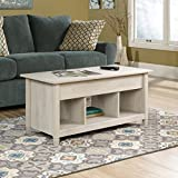 Sauder Edge Water Lift Top Coffee Table with Storage, Chestnut Deal