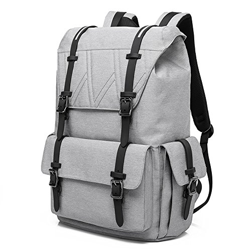 Travel Outdoor Computer Backpack Laptop bag 15.6''(grey) - 2