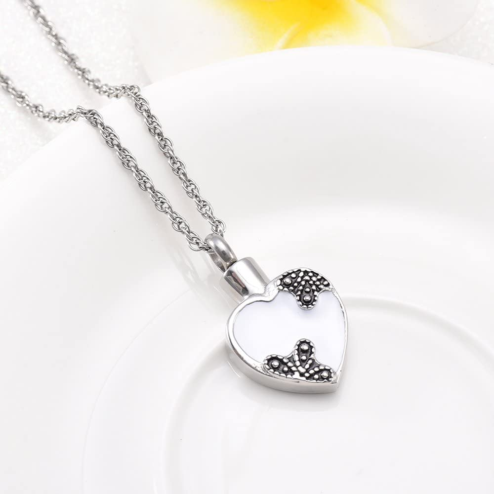 wonderful jewerly Heart Cremation Jewelry Stainless Steel Memorial urn Necklace Ashes Keepsakes Pendant