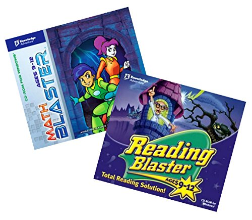 Math and Reading Blaster Age 9 - 12 (Jewel - Blaster Reading Adventure Knowledge