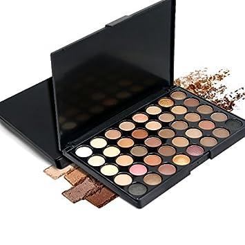 toeiwow shop 40 Color Matte Eyeshadow Pallete Make Up Palette Eye Shadow  Glitter Easy to Wear d981a60078