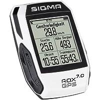 Sigma 01005 Compteur de vélo GPS Mixte Adulte, Blanc
