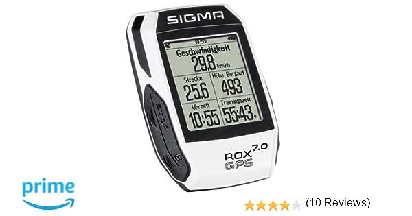 Sigma Sport Rox Gps 7.0 Ciclocomputador bici, Unisex Adulto ...