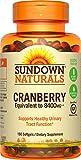 Cheap Sundown Naturals® Super Cranberry 8400 mg Plus Vitamin D3 1000 IU, 150 Softgels