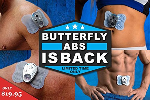 Butterfly Abs Electronic Muscle Stimulator Ems In The