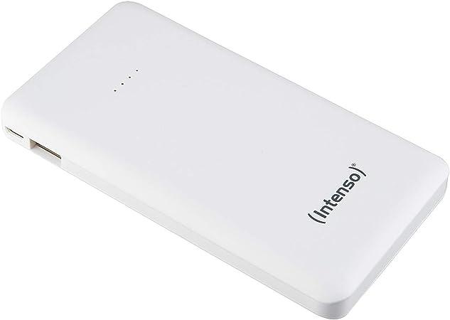 Intenso Powerbank S10000 Slim Externes Ladegerät Weiß Elektronik