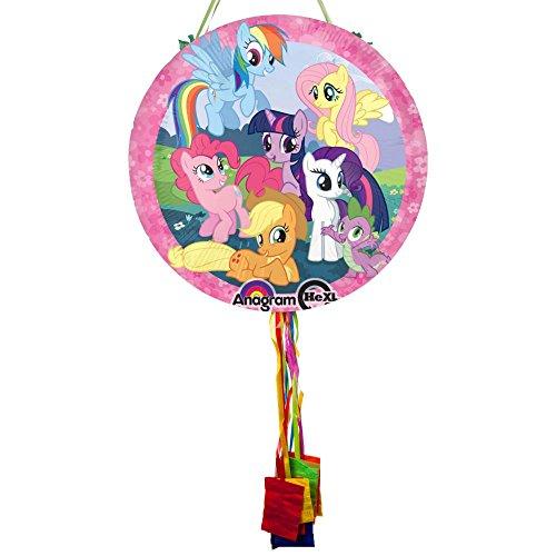 Costume Supercenter BBKIT1079BG My Little Pony Pull String Pinata by Costume SuperCenter