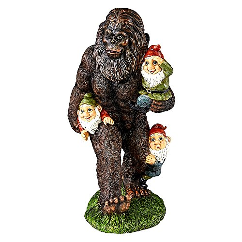 Bigfoot Statue Garden Gnome Statue - Schlepping the Garden Gnomes Famous Cryptozoology Icons - Skroutz Deals Famous Icon