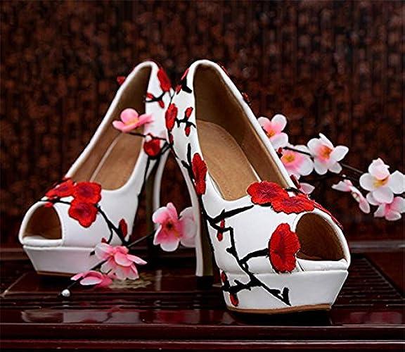 Lavorare Con Di Alto Scarpe Papillon Tacco Abito Scarpe Kitzen Ad Donna Matrimonio Partito Festa Nuziale Corte Da 66ZO8YwqH