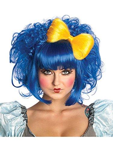 Rubie's Cutie Doll Costume Wig, Blue, One