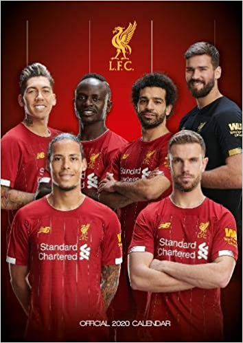 Liverpool Fc 2020 Calendar Official A3 Month To View Wall Calendar Amazon Co Uk Liverpool Fc Books