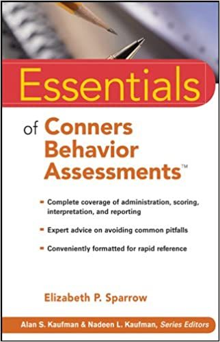 The Essentials of Behavioral Assessment