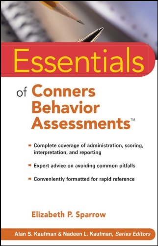 Essentials of Conners Behavior Assessments (Essentials of