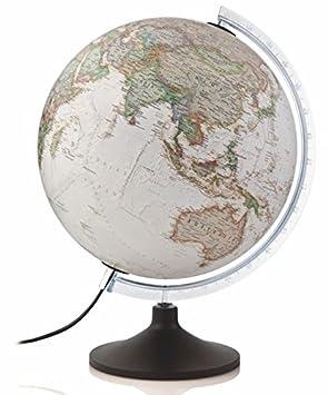 national geographic globo terrqueo de plstico iluminado en castellano cm