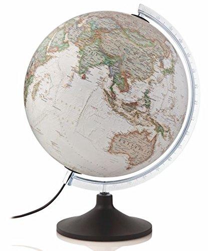 TECNODIDATTICA Mappamondo National Geographic Carbon Executive, Colore Marrone, 0331C0