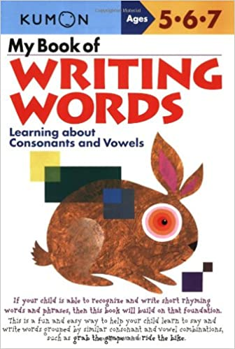My Book of Writing Words: Learning about Consonants and Vowels ...