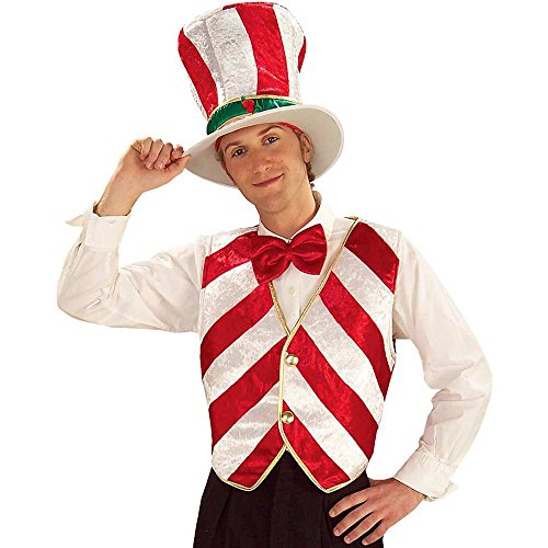 Adult Size Mr Peppermint Costume - Christmas Elf