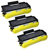 JARBO Compatible for Brother TN650 TN-650 TN580 TN-580 Toner Cartridges High Yield, 3 Black, Use with Brother HL-5370DW 5250DN 5340D 5240 Brother MFC-8890DW 8860DN 8480DN 8460N 8870 DCP-8080dn Printer