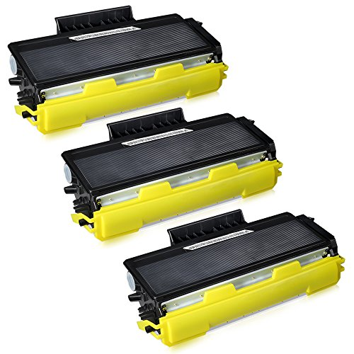 JARBO Compatible for Brother TN650 TN-650 TN580 TN-580 Toner Cartridges High Yield, 3 Black, Use with Brother HL-5370DW 5250DN 5340D 5240 Brother MFC-8890DW 8860DN 8480DN 8460N 8870 DCP-8080dn Printer by JARBO