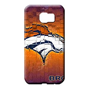 samsung galaxy s6 Compatible phone carrying covers Scratch-proof Protection Cases Covers Strong Protect denver broncos