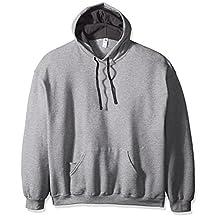 Fruit of the Loom mens Men's Hooded Sweatshirt - Extra Sizes