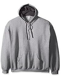 Fruit of the Loom Men's Hooded Sweatshirt - Extra Sizes