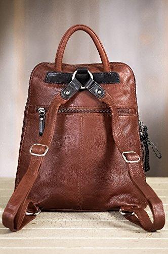 Macy Leather Backpack Purse by Overland Sheepskin Co (Image #4)