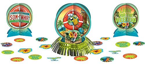 Amscan 280097 Party Decoration, One Size, Multicolor