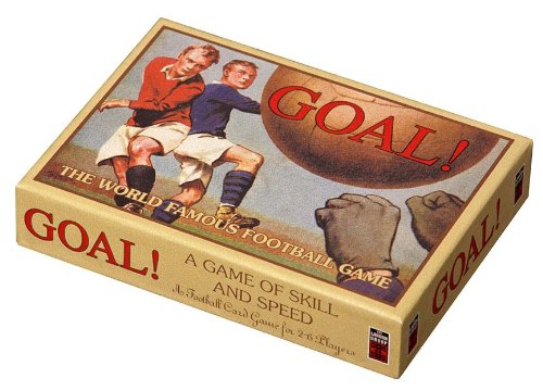 GOAL! A classic card-based football game of skill and speed