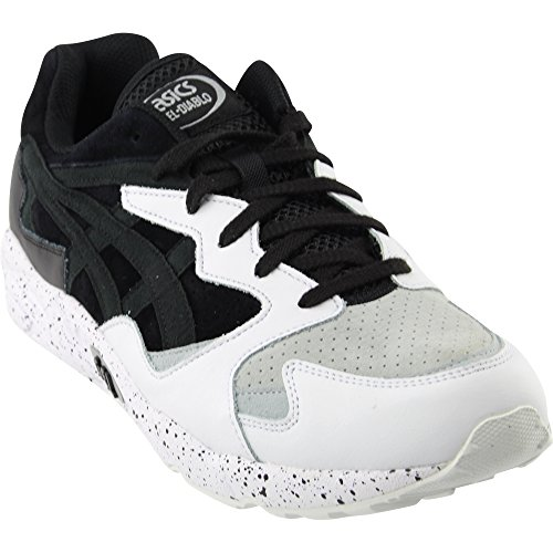 Gel Diablo Mens In Zwart / Black Van Asics Black / Zwart