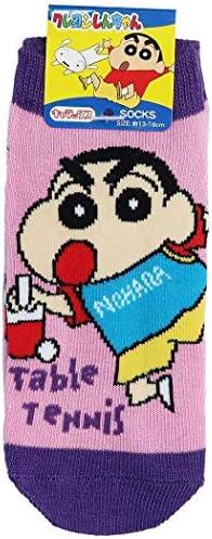 クレヨンしんちゃん[子供用 靴下]キッズ ソックス/卓球