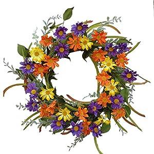 """Flora Decor Aviva Wreath - 24"""" 41"""