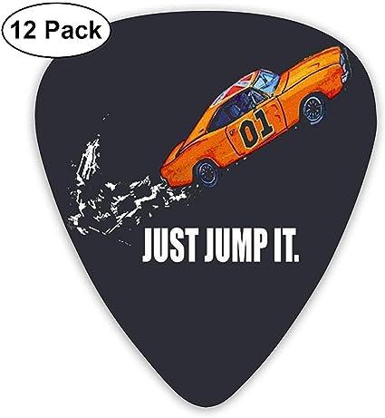 Just Jump It The Dukes Of Hazzard Púas de guitarra (paquete de 12 ...