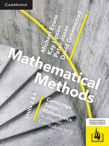 Download CSM VCE Mathematical Methods Units 3 and 4 ebook
