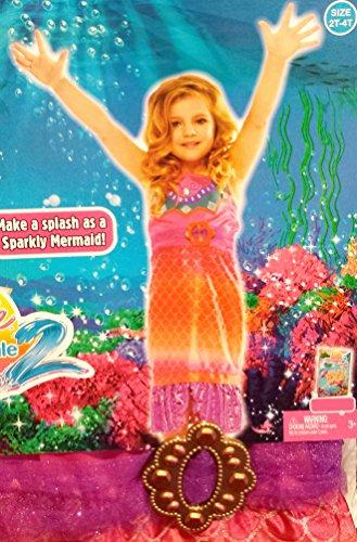 Barbie(merliah) in a Mermaid Tale Costume Girl's Size: (Barbie Mermaid Halloween Costume)