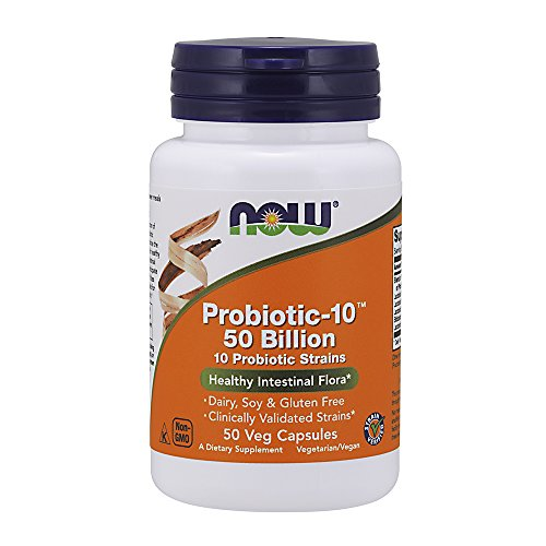 NOW Probiotic 10 Billion Veg Capsules